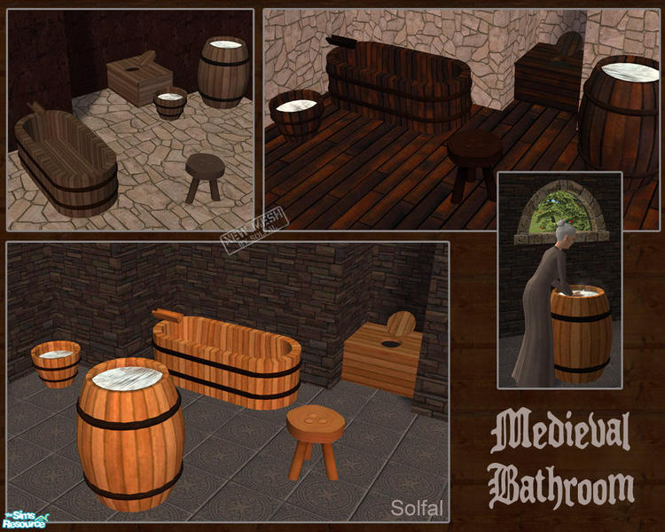 Solfals Medieval Bathroom