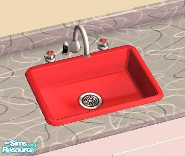 Shannanigan S Retro Kitchen Sink Red