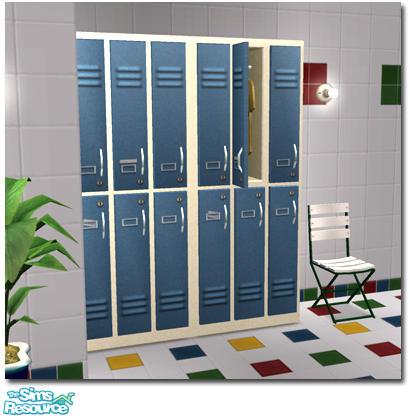 Sims  Locker Room