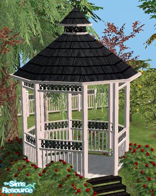 sims 4 gazebo. romantic garden gazebo roof mesh sims 4 n