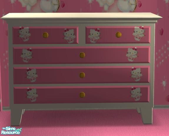 Hello Kitty Medium Dresser