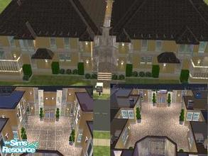 Sims 2 — Bellaridia Apartments  by lalalandgirl16 — this amazing apartment building features four beautiful and spacious