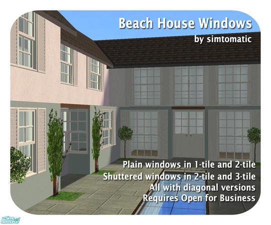 Simtomatic 39 S Beach House Windows