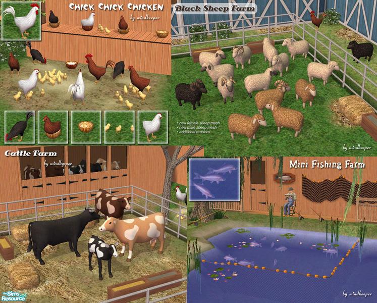 Seasons family farm   the sims 4   farm buil   download youtube.