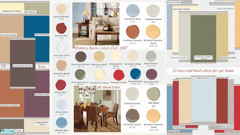 Kristiemi S Pottery Barn Fall Paint Colors