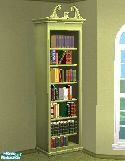 TSR Archives Olive Green Bookcase
