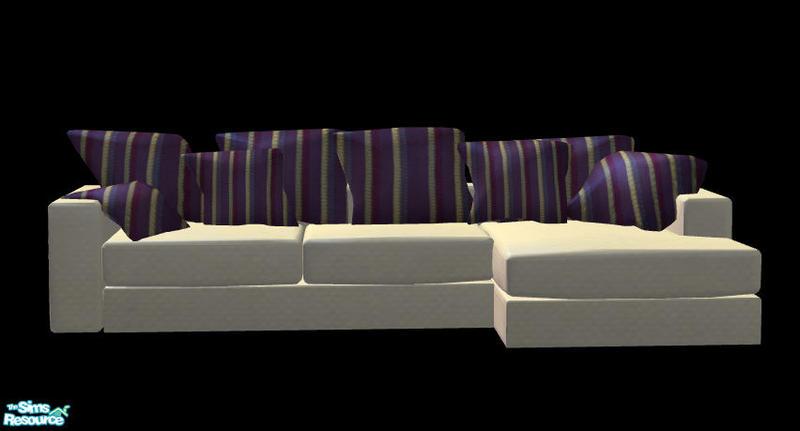 Sophel2139s corner sofa cushion for Sims 3 sectional sofa download