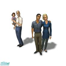Sims 2 — Aspir Family - Desiderata Valley by Moza — <strong>A cleaned up family file for your