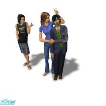 Sims 2 — Contrary Family - Desiderata Valley by Moza — <strong>A cleaned up family file for your
