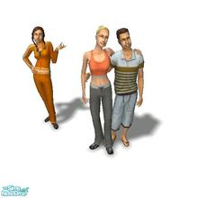 Sims 2 — Joque Family - Desiderata Valley by Moza — <strong>A cleaned up family file for your