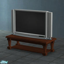 Sims 2 — Soma 44'' Plasma TV for surfaces by Toddfx — The Maxis made 44'' Soma plasma TV is now available for placement