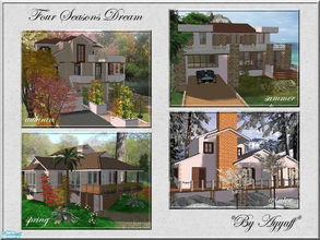Sims 2 — Four Seasons Dream by ayyuff — Included:4 different style lots..Fully Tested.**See each lots for more