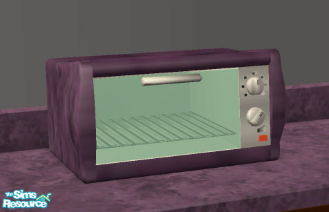 Reds Purple Toaster Oven