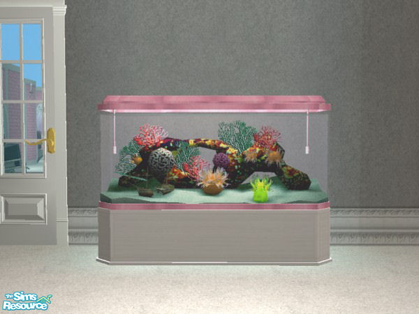 Vampire seductress 39 pink and white fish tank for Pink fish tank
