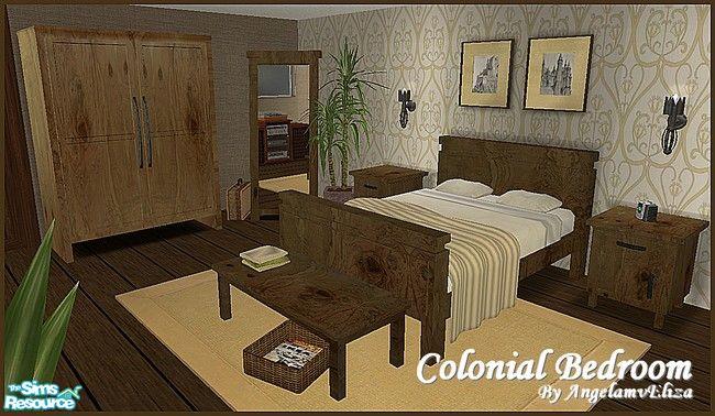 Angela S Colonial Bedroom