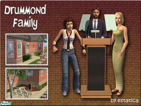 Sims 2 — Drummond Family by estatica — Henry wants to be Mayor, but his family no longer supports his political