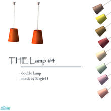 Sims 2 — The Lamp 4 by Sophel21 — colorful living - with these doublelamps its possible. the hanging lamps req. great