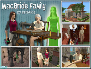 Sims 2 — MacBride Family by estatica —
