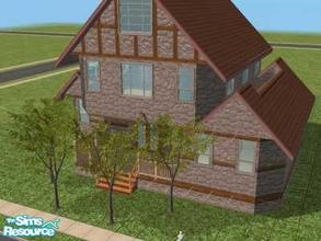 Sims 2 — 15 Everwood Street by Lil-Kiki — This lovely affordable Contryside Home has 2 Bedrooms, 1 Bathroom, Large Living