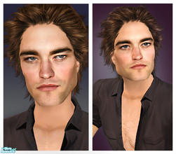 Sims 2 — Robert Pattinson by Jirka — The handsome English actor, Robert Pattinson. Known for his role as Cedric Diggory