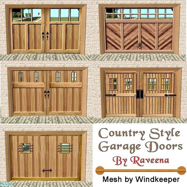 Raveena S Country Style Garage Doors