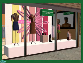 Sims 2 — Shop Window - United Simmers of Tsr by cemre — Fall - Spring 2005 fashion to decorate your clothing shop...