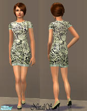 Sims 2 — NS fashion dresses for FA -item 3. by Natalis — New mesh for female adult and various recolors fashion dresses.