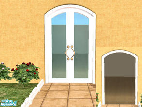 ToT French Door   Silver Frame