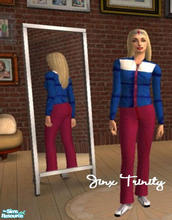 Sims 2 — Set by JinxTrinity — Trainingset for those colder days!