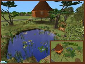 Sims 2 — Jungle Living by Small Town Sim — Whether your Sim wants to live like Tarzan or an adventurous life-style, they