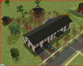 Sims 2 — The Centurion Estate by Anakin_Stupaine — House capable of holding 6 persons. Indoor swimming pool and 2 bowling