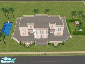 Sims 2 — Definition of Greek by hesmylobster2 — If your looking for elegant style, and enourmous rooms this is the house