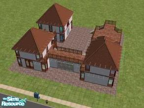 Sims 2 — Brilliant! by hesmylobster2 — A brand new Community lot for all of your Sims needs. Its unfurnished, but there