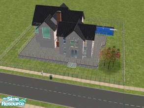 Sims 2 — Fantastic!! by hesmylobster2 — Beautiful! 2 Bedrooms, 2 Bathrooms, Pool with a Large Deck! Just right for