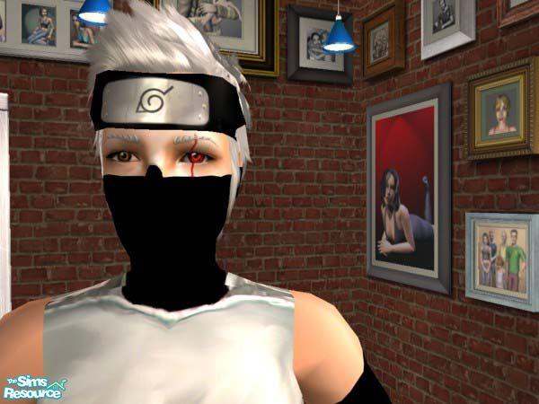Kakashi Mask Tutorial Kakashi Anbu Mask