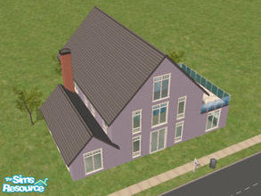 Sims 2 — Kershaw Way by Lil-Kiki — This lovely 2 bedroom house is modern and practical, It has 2 good sized bathrooms, A