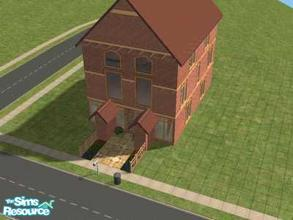 Sims 2 — 1 Springford Green by Lil-Kiki — If you love open plan then this is the house for you, The ground floor has a