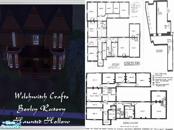 Welshwitch S Borley Rectory Haunted Hollow