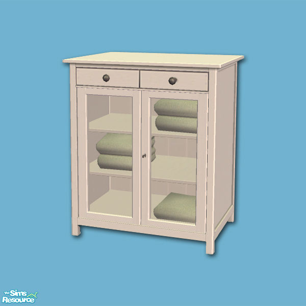 shakeshaft 39 s hemnes add ons linen cabinet mesh. Black Bedroom Furniture Sets. Home Design Ideas