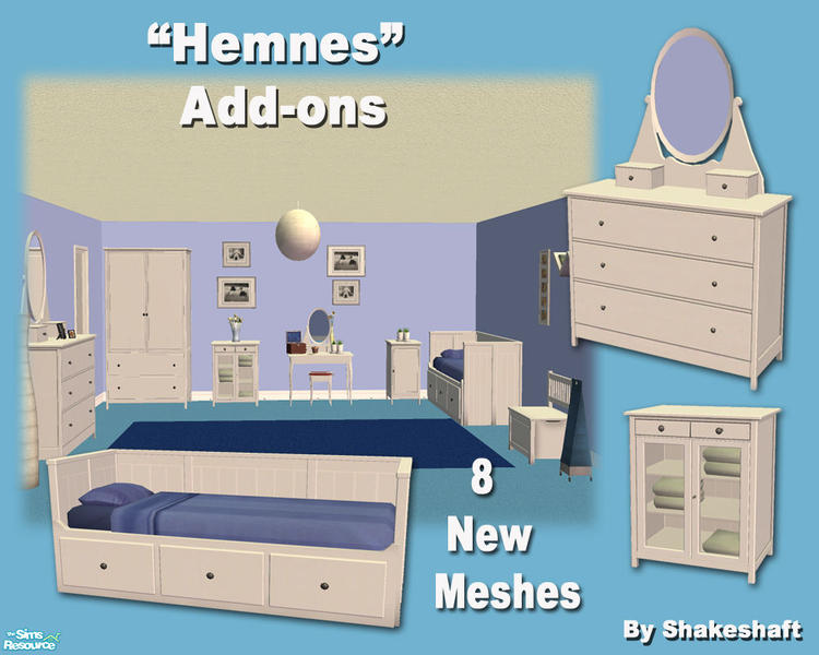 Shakeshaft S Hemnes Add Ons