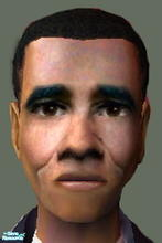 Sims 2 — Barack Obama by stamos1993 — Barack Hussein Obama was born on August 4, 1961. He is an American politician and