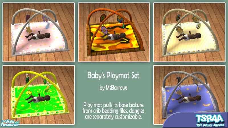 Msbarrows Msb Baby Playmat Set