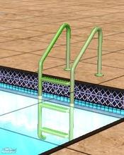 Sims 2 — green pool ladder by apemassie — :)