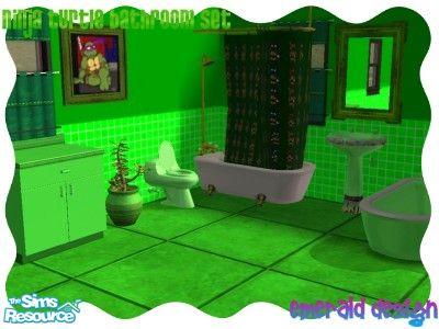 Elegant TMNT Bathroom Set