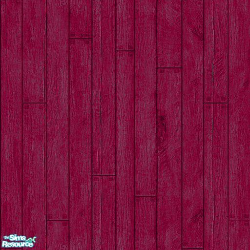 Apemie S Pink Wood Floor