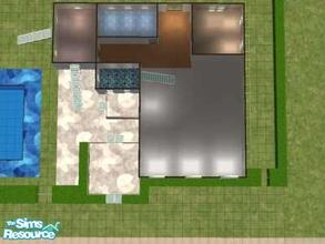 Sims 2 — Sleek Style by hesmylobster2 — Modern Family home, 3 bedrooms, 2 baths, Plenty of space! Balcony on second floor