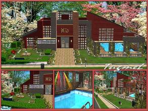"Sims 2 — Tgm-Lot-59 (Dorm-4 Rooms) by TugmeL — Dorm 4 Singlebeds Rooms.. **Please ""Installation Instructions\"""