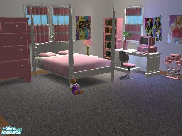 """Teenage Rooms: Mightyfaithgirl's """"Pretty In Pink!"""" Girls Bedroom Set"""