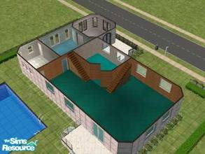 Sims 2 — GreekStlye by hesmylobster2 — Beautiful Home!! 3 Bedroom's, 3 Bathrooms's, Beautiful Entrance, Pool, Unfurnished