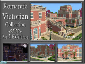 Sims 2 — Romantic Victorian Collection - 2nd Edition by estatica — The second edition of the Romantic Victorian